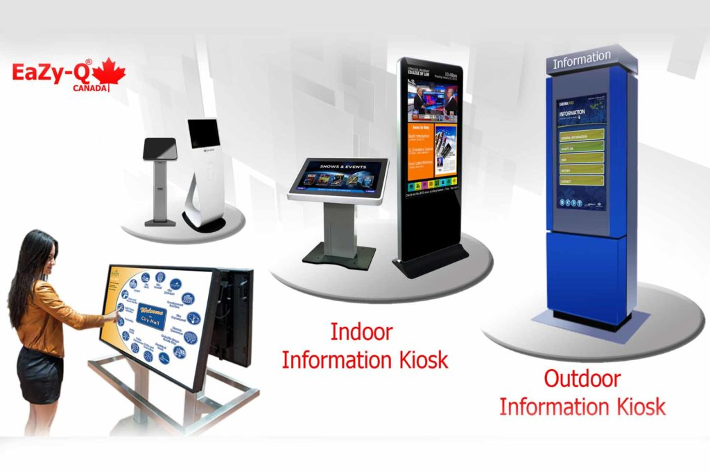 indoor information kiosk