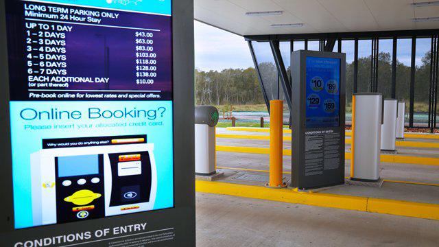 queue display system
