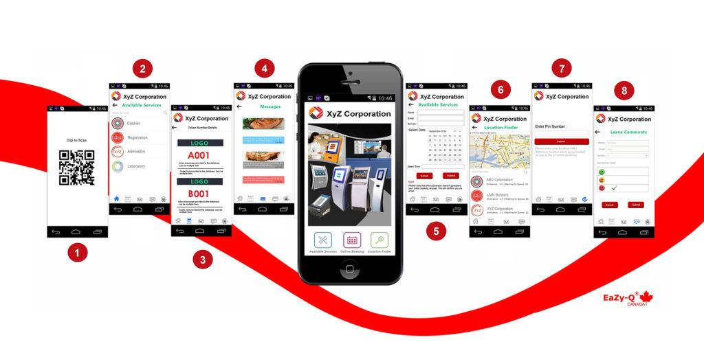 mobile queue management