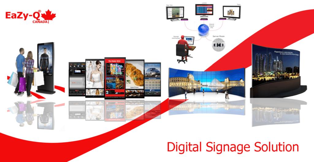 centralized digital signage