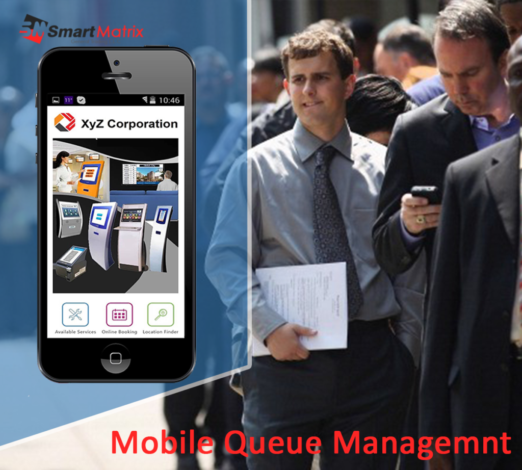 mobile queue management