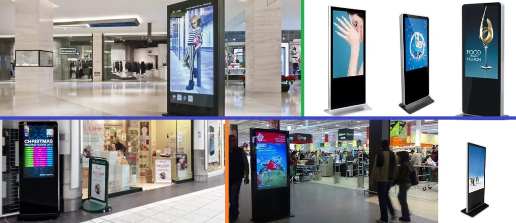 Portable digital signage